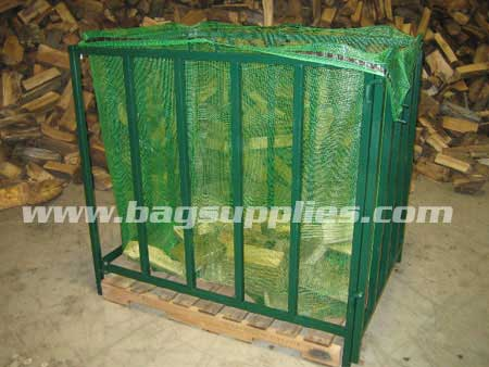 Cubic Log Net Bags