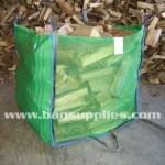 Green Vented Log Bags