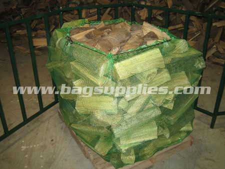 Cubic Log Net Bags