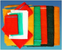 Colour samples of Net Bags supplied by Bag Supplies